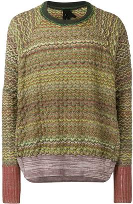 Bernhard Willhelm textured jumper