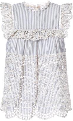 Zimmermann Meredian Stripe blouse