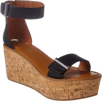 eaccdeecd41 Franco Sarto Cork Heel Women's Sandals - ShopStyle
