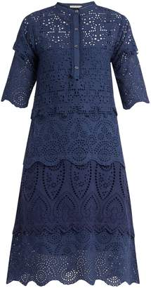 Arabella QUEENE AND BELLE broderie-anglaise cotton dress