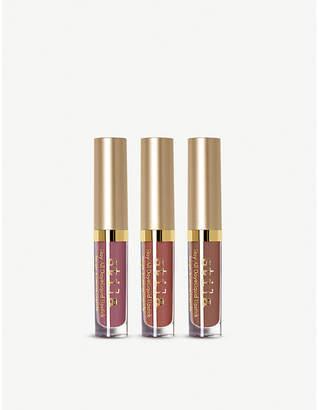 Stila In the Nude Stay all Day liquid lipstick set of three