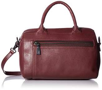 Frye Lena Zip Leather Satchel Bag