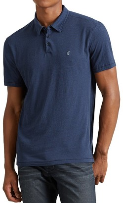 John Varvatos Star USA Striped Slim Fit Polo Shirt $98 thestylecure.com