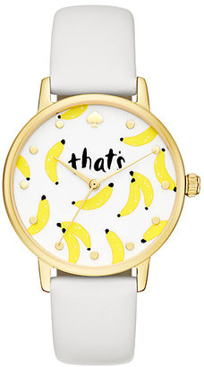 Thats bananas metro watch $195 thestylecure.com