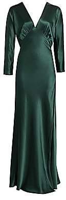 Mason by Michelle Mason Women's Dolman Long Sleeve Gown