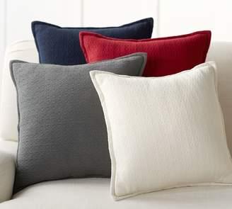 Pottery Barn Mini Diamond Pillow