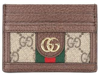 Gucci Logo leather card holder