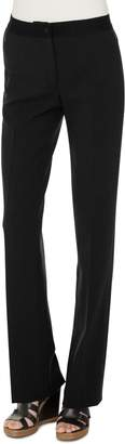 Akris Double Face Stretch Wool Trousers