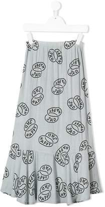 Bobo Choses Happy Sad Sevillana skirt