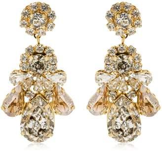 Shourouk Patina Clip-On Earrings