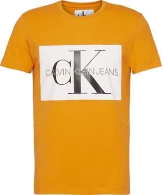 Calvin Klein Men's  Jeans Monogram Box Logo Tee