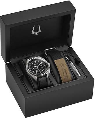 Bulova Mens Black Watch Boxed Set-96b251