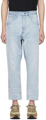 Bobson Wheir Blue Drop Crotch Jeans
