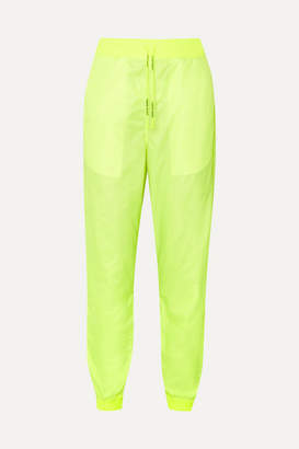 Off-White Neon Shell Track Pants - Yellow