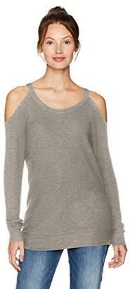 Chaser Women's Love Knit L/s Cold Shoulder Raglan