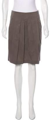 Gunex Pleated Knee-Length Skirt