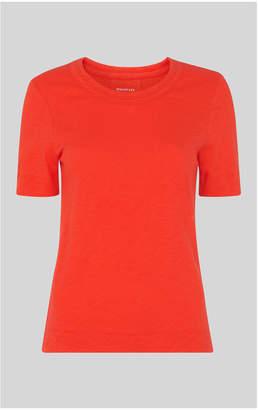 Whistles Rosa Double Trim Tshirt