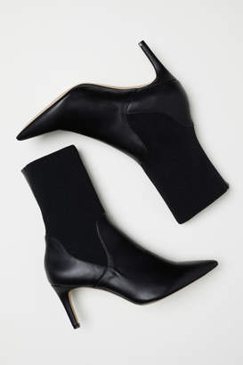 H&M Ankle Boots with Soft Leg - Black
