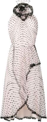 Philosophy di Lorenzo Serafini bow detail polka dot dress