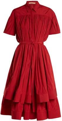 Brock Collection Danika double-layer cotton midi dress