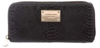 MICHAEL Michael Kors Textured Leather Continental Wallet