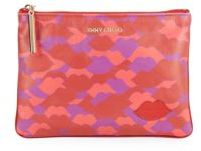Jimmy Choo Nina Leather Pouch