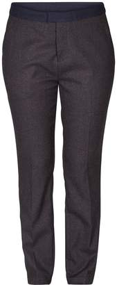 Nümph Straight Trousers with Contrasting Belt