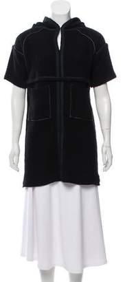 Etoile Isabel Marant Hooded Wool Coverup