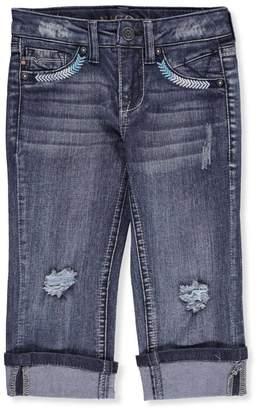 Vigoss Little Girls' Cropped Skinny Jeans