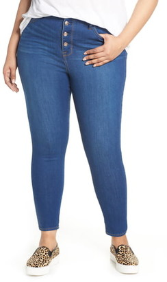 Seven7 Ultra High-Waist Skinny Jeans