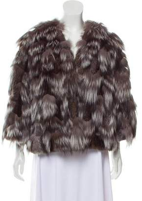 Derek Lam Short Fur Coat w/ Tags