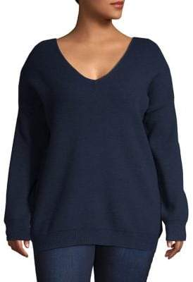 GABRIELLE Plus Bow-Embellished Sweater