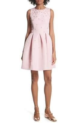 Ted Baker Embellished Skater Dress