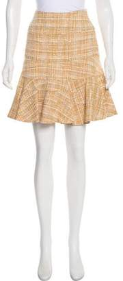 Akris Punto Tweed Mini Skirt w/ Tags w/ Tags