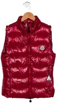 53242e494 Moncler Girls Vest - ShopStyle