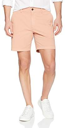 "Goodthreads Men's 7"" Inseam Flat-Front Stretch Chino Shorts"