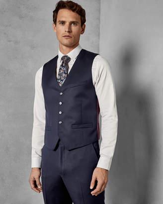 Ted Baker ARCREGW Debonair classic fit wool waistcoat