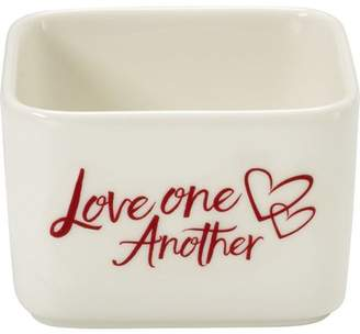Precious Moments Celebrations by 171533 7 oz Love One Another Porcelain Appetizer and Dip Serving Bowl 2.25-inches