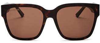 Balenciaga Women's Square Sunglasses, 55mm