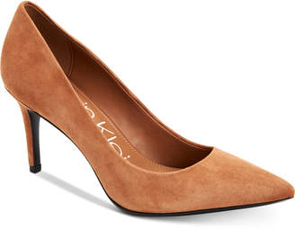 Calvin Klein Women's Gayle Pointed Toe Pumps Women's Shoes