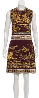 Valentino Jacquard Mini Dress w/ Tags