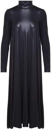 MM6 MAISON MARGIELA Coated Stretch-jersey Turtleneck Dress