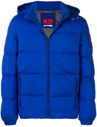 Calvin Klein hooded down jacket