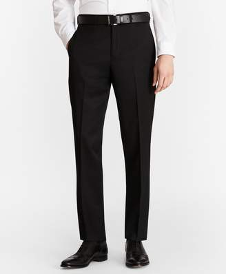 Brooks Brothers Milano Fit Flat-Front Classic Gabardine Trousers