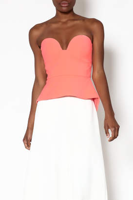 Minty meets Munt Paloma Bustier Top