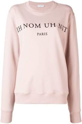 Ih Nom Uh Nit oversized sweatshirt