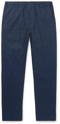 Acne Studios Ari Slim-fit Stretch-cotton Drawstring Trousers