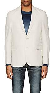 Ralph Lauren Purple Label Men's Hadley Linen-Silk Two-Button Sportcoat - Ivorybone