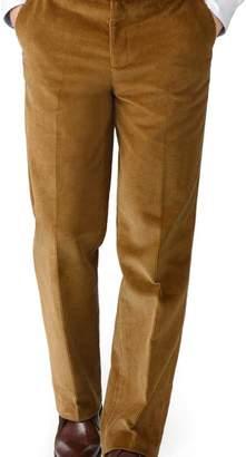 Charles Tyrwhitt Yellow classic fit jumbo cord pants