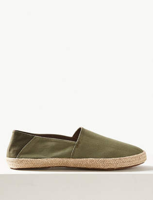Marks and Spencer Slip-on Espadrilles with Freshfeet